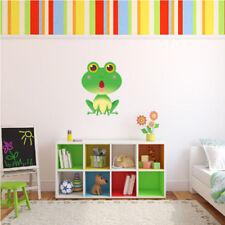 Pegatinas y plantillas de pared vinilos sin marca color principal verde para el hogar