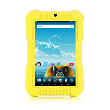 "iRULU 7"" Yellow Android 5.1 Lollipop Quad Core BadyPad 16GB Learning Tablet PC"