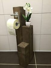 toilettenpapierhalter aus holz ebay. Black Bedroom Furniture Sets. Home Design Ideas