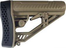 Adaptive Tactical EX Performance Adjustable Stock w/Rubber Buttpad AT-02012-FDE