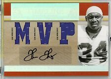 Thurman Thomas Autograph Triple Jersey Patch 2007 Playoff National Treasures HOF