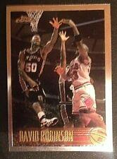 1996-97 Topps Chrome David Robinson w/ Michael Jordan #80