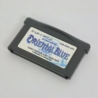 Gameboy Advance ORIENTAL BLUE Cartridge Only Nintendo gbac