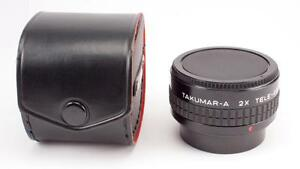Pentax Takumar - A 2X  Teleconverter for Manual Focus & Digital Cameras-Nice!
