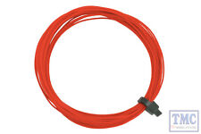 DCW-32RD DCC Concepts N/TT/HO/OO/O/G Scale Red Stranded Decoder Wire (6m)