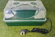 Heated electric seed Propagator HD trays and lids propagator greenhouse seed