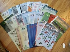 Lot Of 60 Vintage The New Yorker Magazine Covers