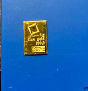 1 Gram gold 999 pure