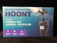 Hoont Cobra- Jet Outdoor Motion Activated Water Blaster- Animal Rodent Repellent