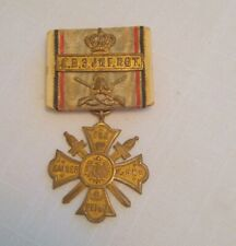German Bavarian Veterans Medal With Ribbon- K. B. 3. Jnf. Rgt.