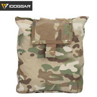 IDOGEAR MOLLE Dump Pouch Magazine Drop Pouch Paintball Recycling Bag Military