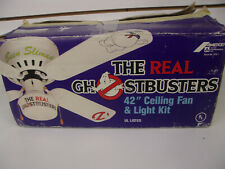 "Vintage 1980s, The Real Ghostbusters 42"" Ceiling Fan & Light Kit Amercep"