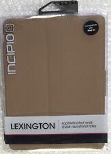 Incipio Lexington Case: iPad Air - Brown/Pink