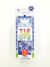 Create Basics Tie Dye Shirt Kit Make 3 Projects 9pc Kit Blue
