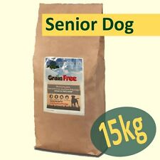 15kg *Grain Free* SENIOR Working Dog Food TROUT, SALMON, S/POTATO & ASPARAGUS