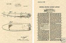 HIGGINS Eureka US Patent Art Print READY TO FRAME!!!! WWII LCM World War Andrew