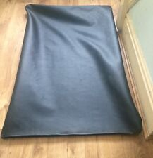 faux leather memory foam dog bed zipped cover  only durable Hygienic Rugged