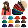 Fashion Lady Vogue Vintage Women's Wool Cute Trendy Bowler Derby Hat Celebrity