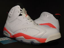 NIKE AIR JORDAN VI 6 RETRO WHITE INFRARED PINK BLACK RED BRED OG 384664-123 11.5