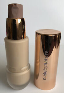 3x Nude By Nature Flawless Liquid Foundation W4 Soft Sand Makeup Bundle Joblot