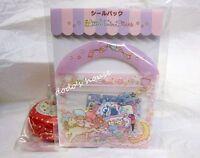 Sanrio Japan Little Twin Stars Stationery Sticker Set Pack 50pcs