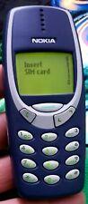 Nokia 3310 - Blue (Unlocked) Mobile Phone Excellent Condition Sim Free