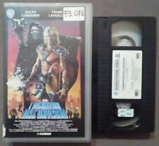 VHS FILM Ita Fantascienza I DOMINATORI DELL'UNIVERSO he man ex nolo no dvd(VH48)