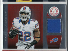 Fred Jackson 2013 Totally Certified Red GAME USED Relic #62 Bills RB 087 /199