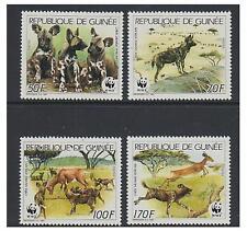 Guinea 1987 Wildlife (part set) - MNH - SG 1325/8