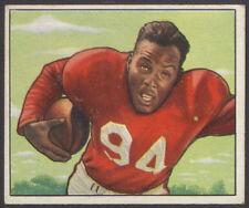 "1950 BOWMAN FOOTBALL #35 JOE ""THE JET"" PERRY HALL OF FAME ROOKIE CARD 49ers"