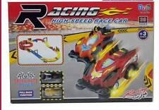 Super Star Monster 2 macchinine GIOCO PISTA 39 PZ RETRO CARICA AUTO ACQUAVERDE