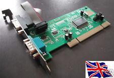 RS-232 2 porte Serial PCI Card mochip 9835