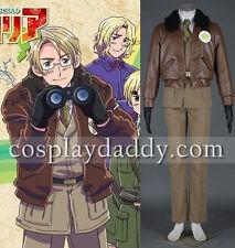 Axis Powers Hetalia APH United States of America Alfred F. Jones Cosplay Costume