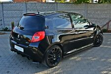 Cup spoiler approche renault Clio 3 III rs spoiler toit arrière dissertation ABS