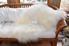 """Cheap Icelandic Sheepskin Blanket Rug,Chair Cushion,Dog Bed,Bath Mat,39x30"""" P167"""