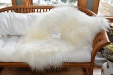 "Cheap Icelandic Sheepskin Blanket Rug,Chair Cushion,Dog Bed,Larping,39x30"" P167"
