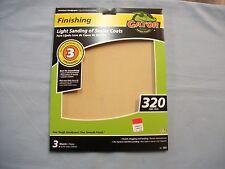 Gator Light Sanding of Sealer Coats Sandpaper 320 Grit