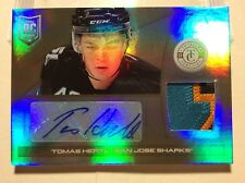 2013-14 Panini Totally Cert. Hockey Tomas Hertl 4 Color Patch/Auto 1/5