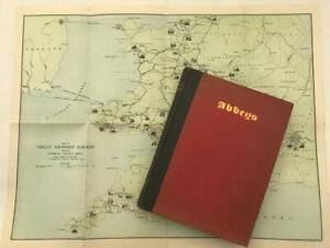 1925 1st Edition Abbeys by M R James GWR Great Western Railway With Map & Plans