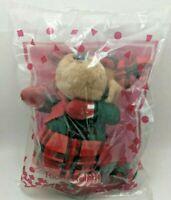 Vintage 1995 Avon Kids Ricky Reindeer Plush - New in Package
