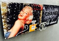 marilyn monroe wall decor, Marilyn Monroe, Chanel, Chanel decor, elvis presley