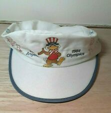 Los Angeles Olympics 1984 Painters Hat Cap USA Bird One Size