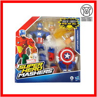 Marvel Super Hero Mashers Captain America Action Figure Age 4+ Boxed by Hasbro