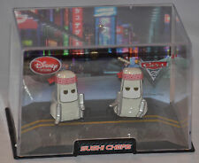 NEW! Disney Store PIXAR Cars 2 Sushi Chefs Diecast Car (W/Case) (FAST SHIPPING!)