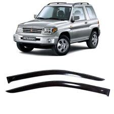 For Mitsubishi Pajero Pinin 3d 1998 2006 Window Visors Sun Guard Vent Deflectors