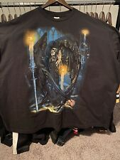 Vtg 90's Fashion Victim Reaper Size XXL 2XL Double Sided Great Condition