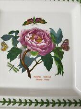 Portmeirion Botanic Garden Square Dinner Plate  Set of 4