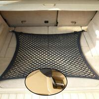 80*60CM Rear Trunk Boot Floor Cargo Net Luggage Organizer Elastic Mesh Car