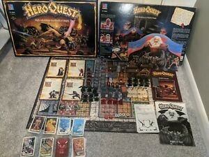 Heroquest Complete - With Expansion - Unpainted And Very Good Condition