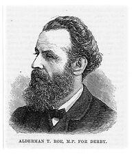 Concejal T Roe Mp Para Derby-huella de antigua 1883